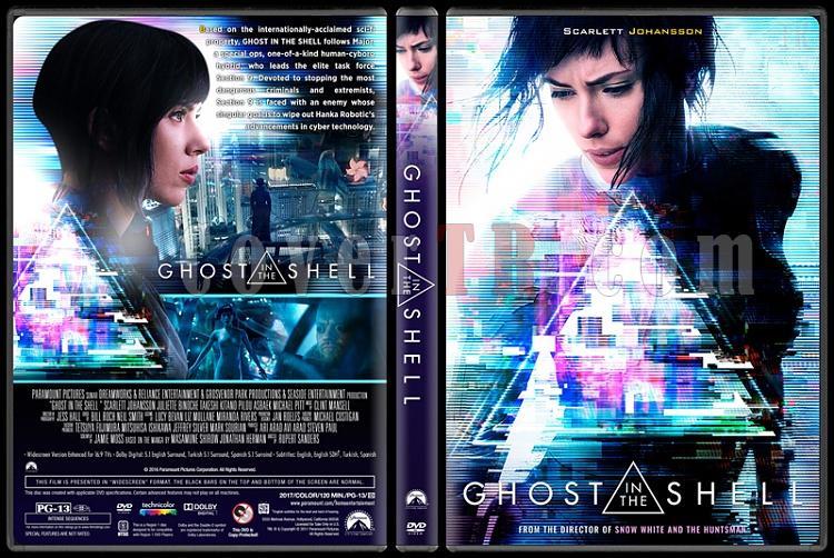 Ghost in the Shell (Kabuktaki Hayalet) - Custom Dvd Cover - English [2017]-1jpg