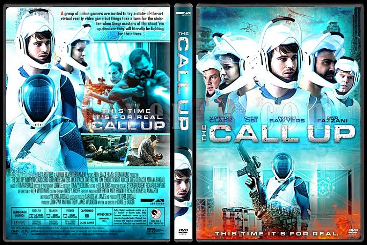The Call Up (Simulasyon) - Custom Dvd Cover - English [2016]-1jpg