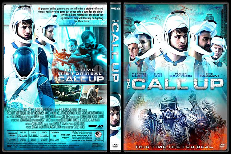 The Call Up (Simulasyon) - Custom Dvd Cover - English [2016]-2jpg
