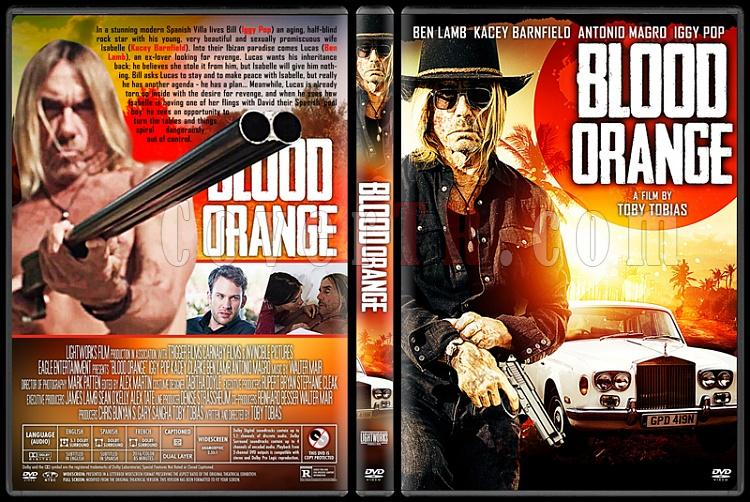 Blood Orange - Custom Dvd Cover - English [2016]-3jpg
