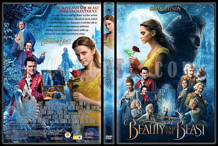 Beauty and the Beast - Custom Dvd Cover - English [2017]-1jpg