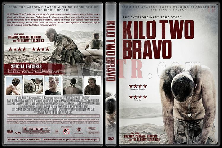 Kilo Two Bravo (Mayınlar Arasında) - Custom Dvd Cover - English [2014]-1jpg