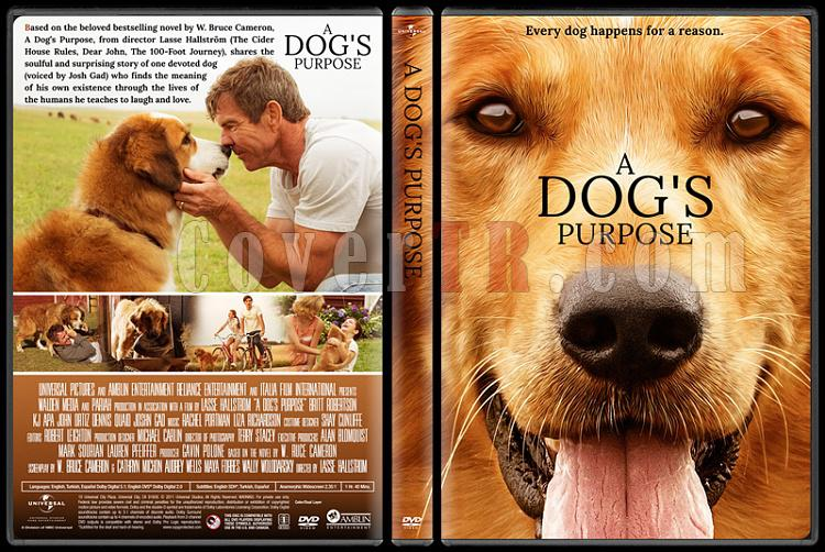 A Dog's Purpose (Can Dostum) - Custom Dvd Cover - English [2017]-2jpg