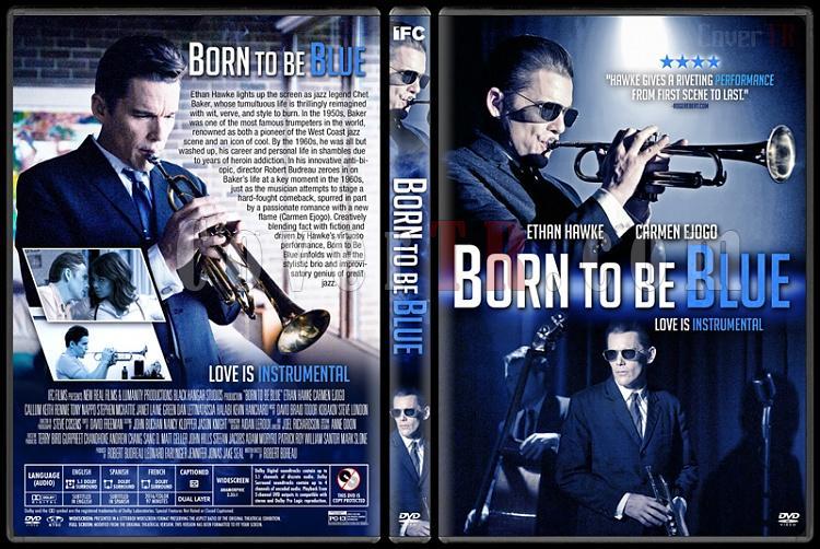 Born to Be Blue - Custom Dvd Cover - English [2015]-1jpg