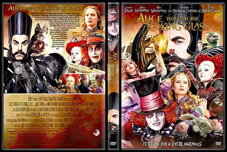 Alice Through the Looking Glass - Custom Dvd Cover - English [2016]-1jpg