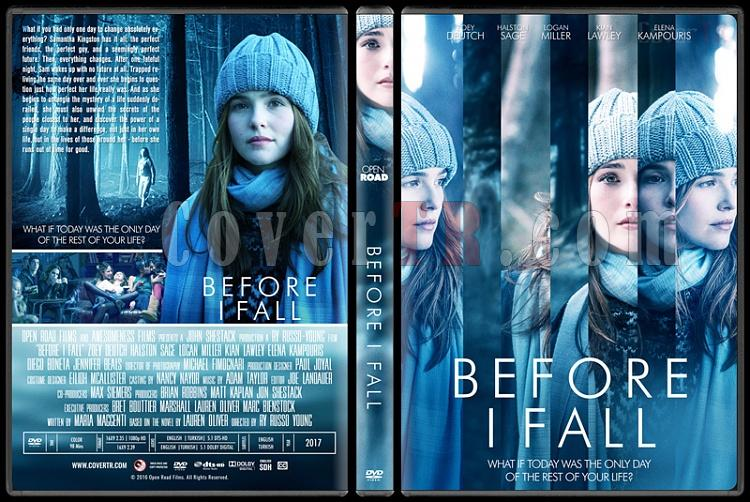 Before I Fall (Ben Ölmeden Önce) - Custom Dvd Cover - English [2017]-1jpg