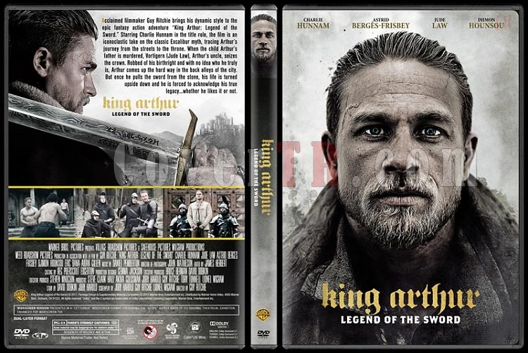 King Arthur: Legend of the Sword (Kral Arthur: Kılıç Efsanesi) - Custom Dvd Cover - English [2017]-2jpg
