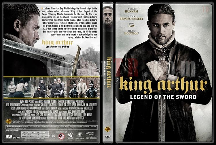 King Arthur: Legend of the Sword (Kral Arthur: Kılıç Efsanesi) - Custom Dvd Cover - English [2017]-3jpg