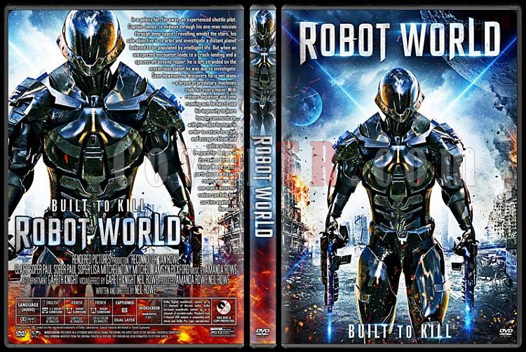 Robot World - Custom Dvd Cover - English [2015]-1jpg