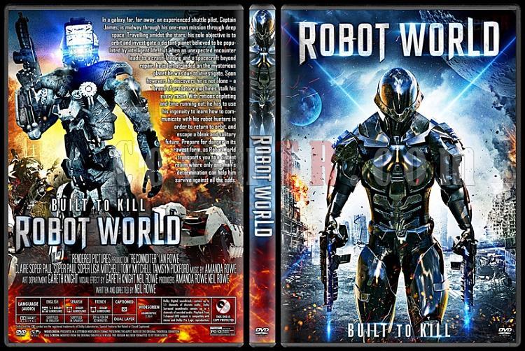 Robot World - Custom Dvd Cover - English [2015]-2jpg