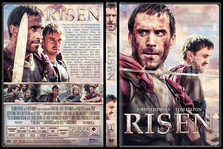 Risen - Custom Dvd Cover - English [2016]-2jpg