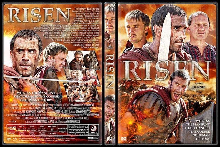 Risen - Custom Dvd Cover - English [2015]-1jpg