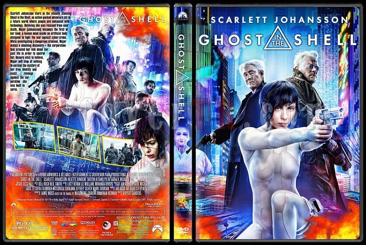 Ghost in the Shell - Custom Dvd Cover - English [2017]-dvdjpg