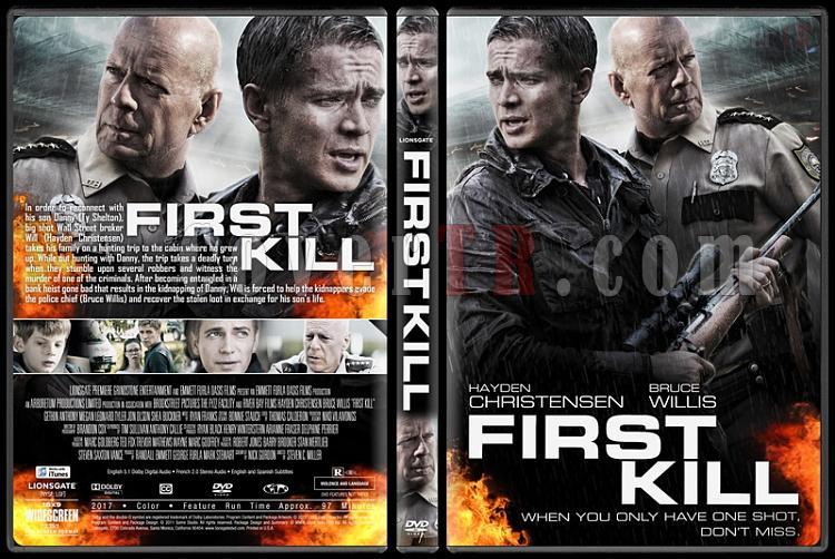 First Kill (İlk Kurşun) - Custom Dvd Cover - English [2017]-1jpg