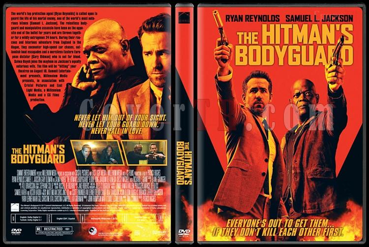The Hitman's Bodyguard - Custom Dvd Cover - English [2017]-1jpg