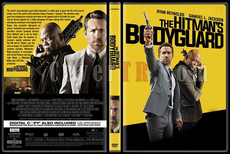 The Hitman's Bodyguard (Belalı Tanık) - Custom Dvd Cover - English [2017]-1jpg