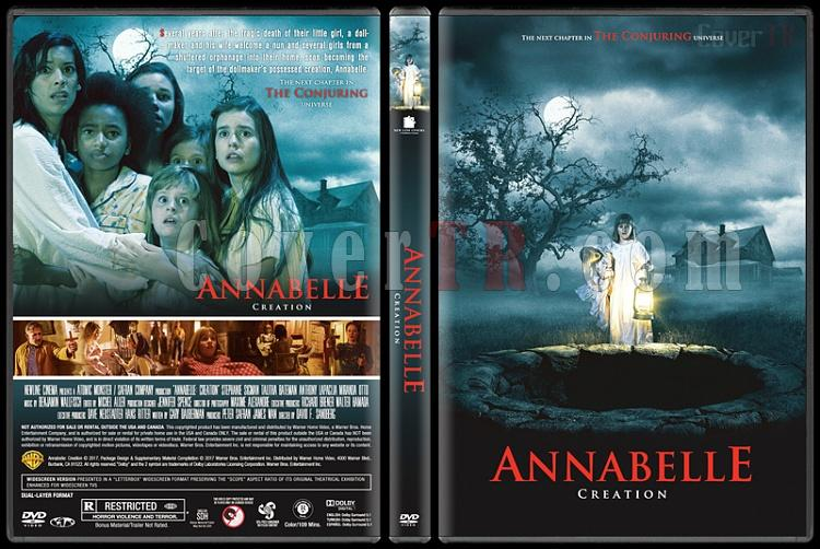 Annabelle: Creation (Annabelle: Kötülüğün Doğuşu) - Custom Dvd Cover - English [2017]-2jpg