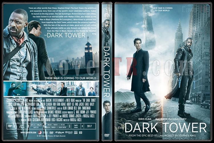 The Dark Tower (Kara Kule) - Custom Dvd Cover - English [2017]-2jpg