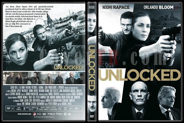 Unlocked (Gizli Kod) - Custom Dvd Cover - English [2017]-2jpg