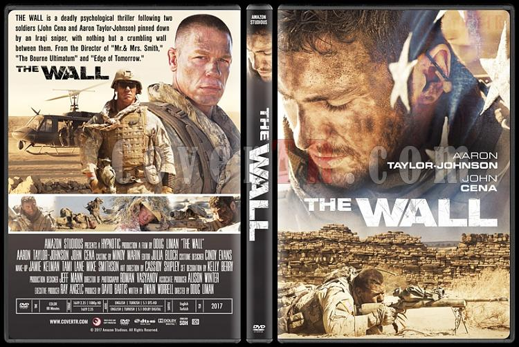 The Wall (Sniper: Duvar) - Custom Dvd Cover - English [2017]-1jpg