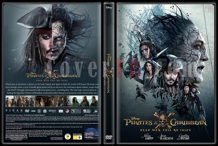 Pirates of the Caribbean: Dead Men Tell No Tales (Karayip Korsanları 5: Salazar'ın İntikamı) - Custom Dvd Cover - English [2017]-1jpg