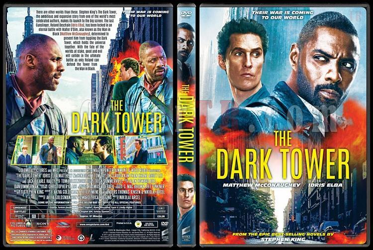 The Dark Tower - Custom Dvd Cover - English [2017]-1jpg