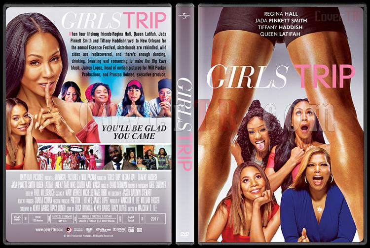 Girls Trip - Custom Dvd Cover - English [2017]-1jpg