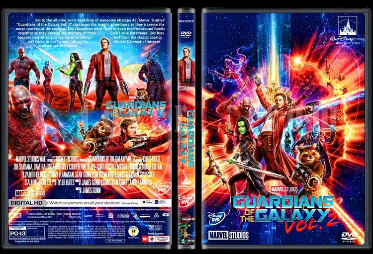 Guardians of the Galaxy Vol. 2 - Custom Dvd Cover - English [2017]-guardianscovertrjpg