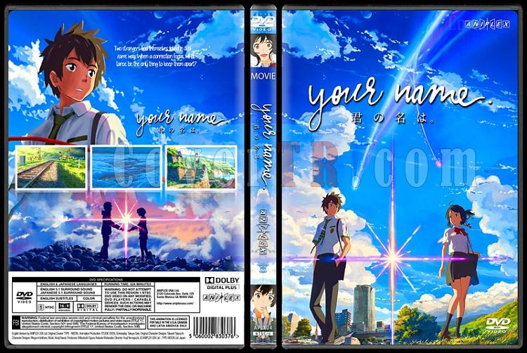 Your Name - Custom Dvd Cover - English [2016]-standardjpg