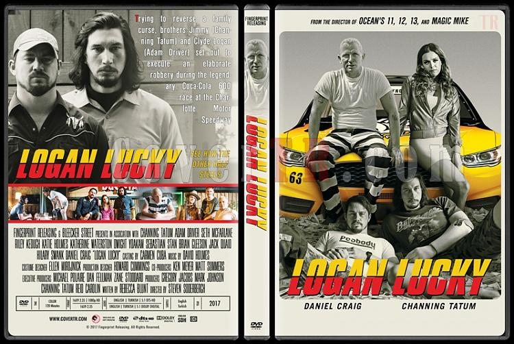 Logan Lucky (Şanslı Logan) - Custom Dvd Cover - English [2017]-1jpg