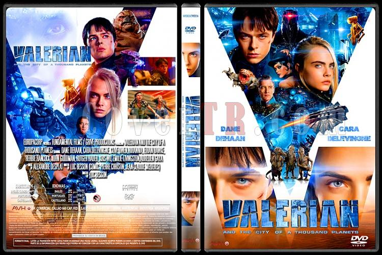 Valerian and the City of a Thousand Planets - Custom Dvd Cover - English [2017]-standardjpg