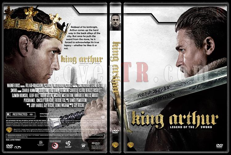 King Arthur: Legend of the Sword - Custom Dvd Cover - English [2017]-standard3jpg