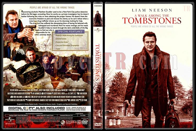 A Walk Among the Tombstones - Custom Dvd Cover - English [2014]-standard4jpg