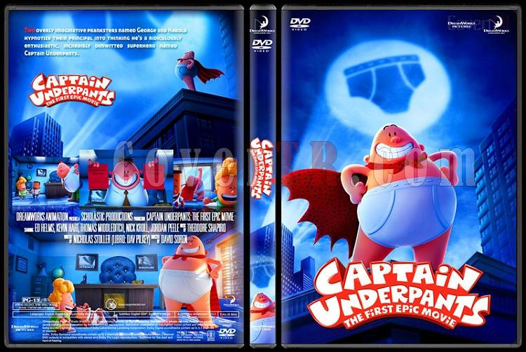 Captain Underpants: The First Epic Movie - Custom Dvd Cover - English [2017]-standard5jpg