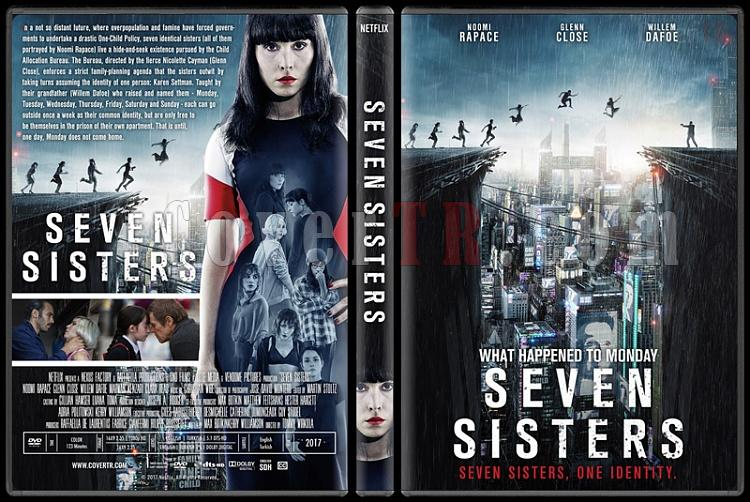 Seven Sisters - What Happened to Monday (Yedinci Hayat) - Custom Dvd Cover - English [2017]-4jpg