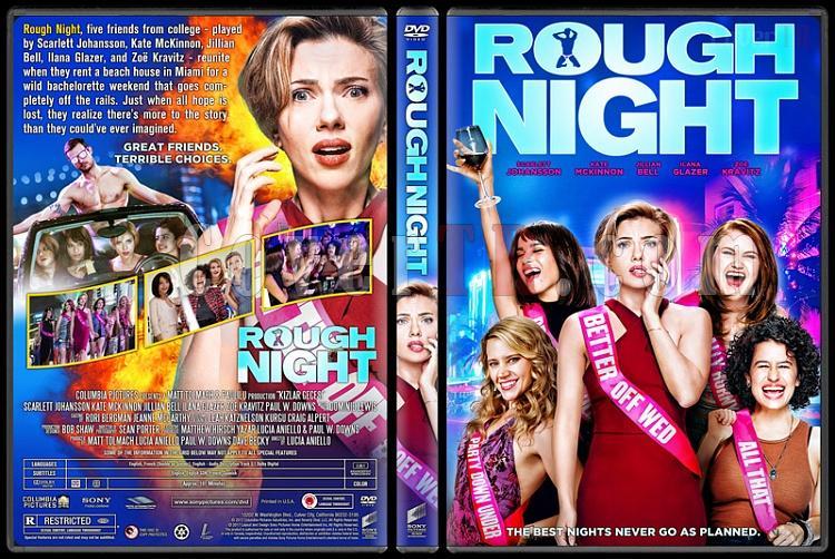 Rough Night - Custom Dvd Cover - English [2017]-1jpg