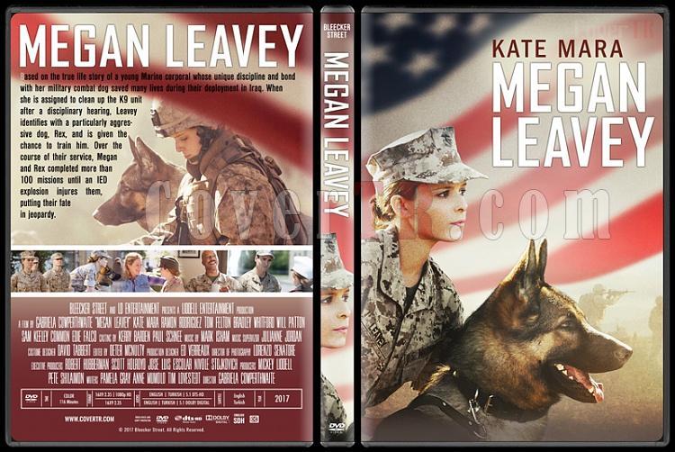 Megan Leavey (Sadakat Yolunda) - Custom Dvd Cover - English [2017]-2jpg