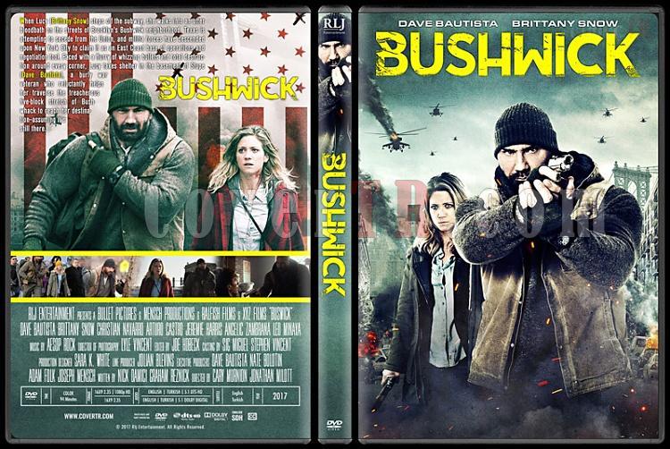 Bushwick - Custom Dvd Cover - Türkçe [2017]-1jpg