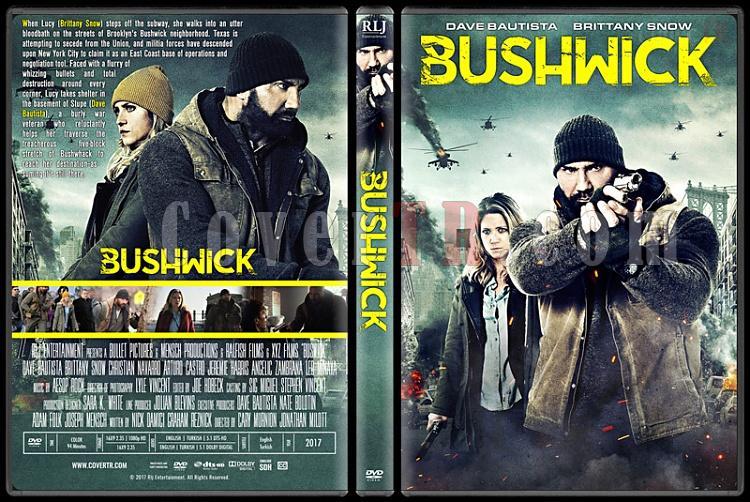 Bushwick - Custom Dvd Cover - Türkçe [2017]-2jpg