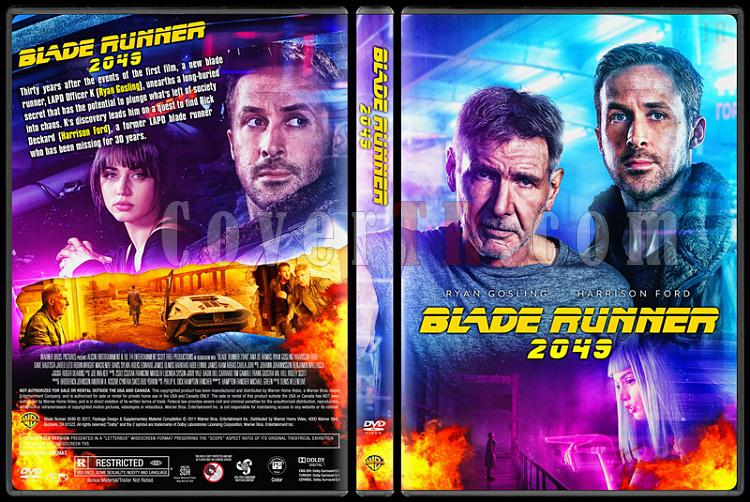Blade Runner 2049 - Custom Dvd Cover - English [2017]-1jpg