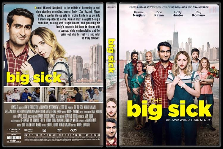The Big Sick - Custom Dvd Cover - English [2017]-2jpg