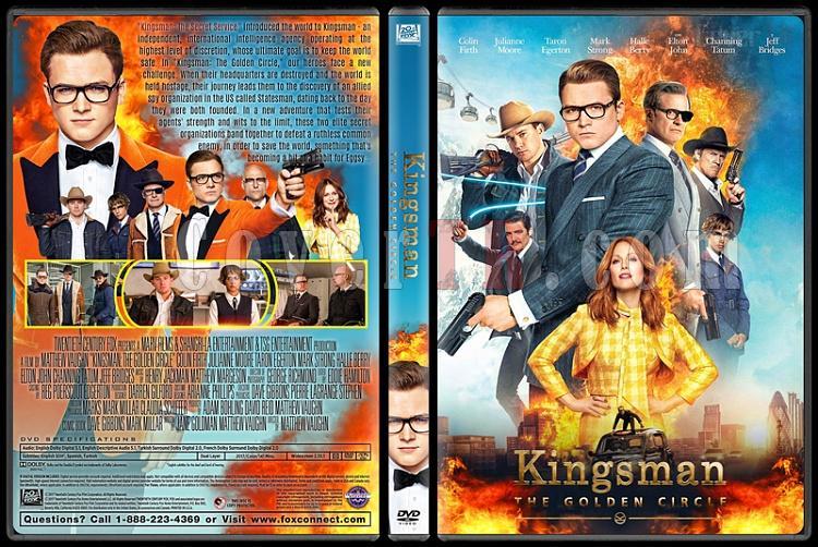 Kingsman: The Golden Circle - Custom Dvd Cover - English [2017]-1jpg