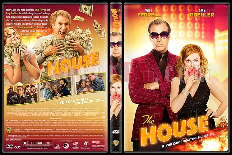The House - Custom Dvd Cover - English [2017]-1jpg
