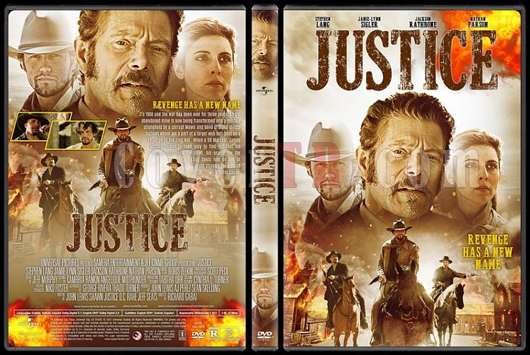 Justice - Custom Dvd Cover - English [2017]-1jpg