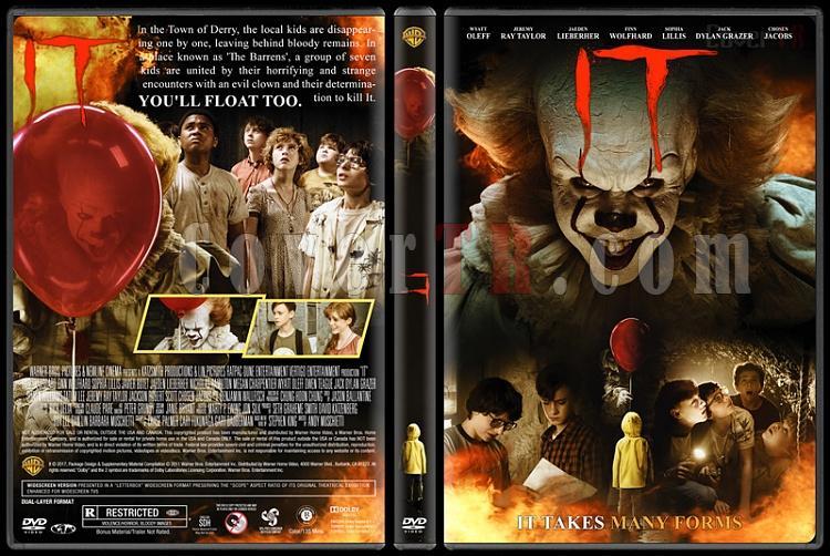 It (O) - Custom Dvd Cover - English [2017]-1jpg