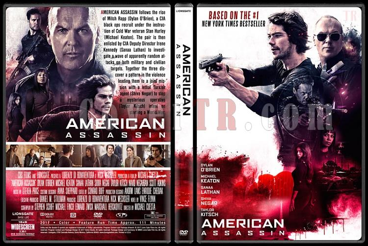 American Assassin (Suikastçı) - Custom Dvd Cover - English [2017]-1jpg