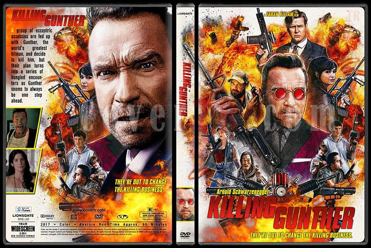 Killing Gunther - Custom Dvd Cover - English [2017]-2jpg