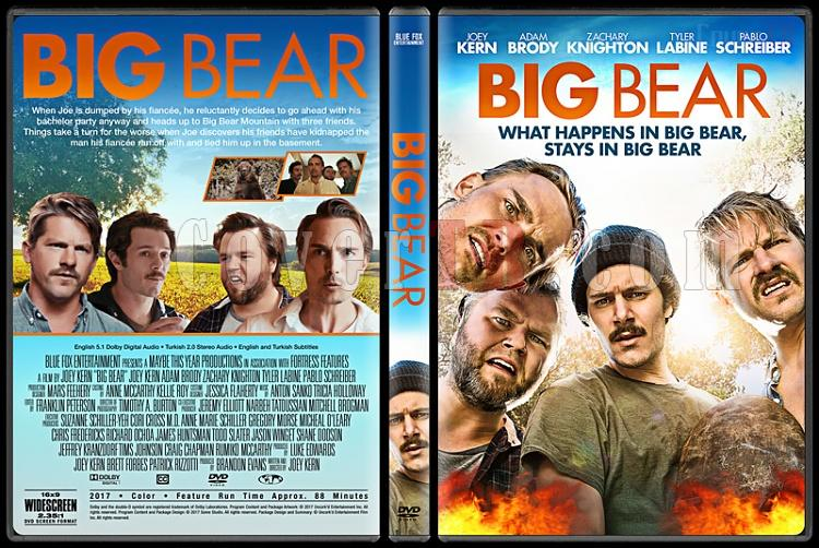 Big Bear - Custom Dvd Cover - English [2017]-1jpg