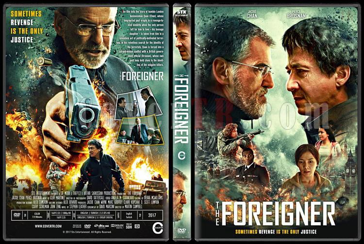 The Foreigner (İntikam) - Custom Dvd Cover - English [2017]-1jpg