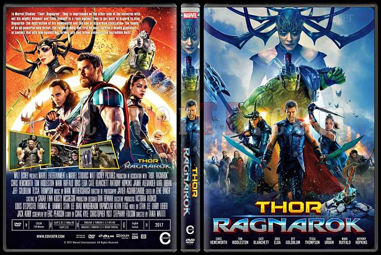 Thor: Ragnarok - Custom Dvd Cover - English [2017]-2jpg